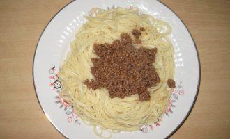 Спагетти с томатно-мясным соусом «Болонез»