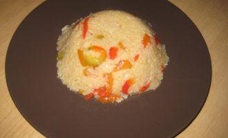Рис с болгарским перцем