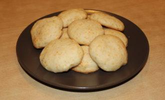 Мягкое постное печенье на рассоле