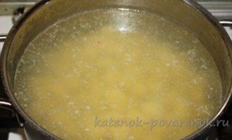 Сливочный суп с лососем - шаг 14