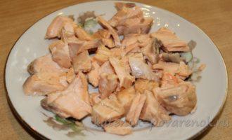Сливочный суп с лососем - шаг 16