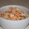 Салат из пекинской капусты с морковью по-корейски и крабовыми палочками